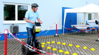 Segway Parcours bei Acti-Med